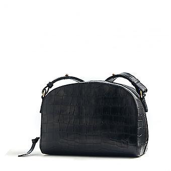 The Lunatic - Black - Croco Leather