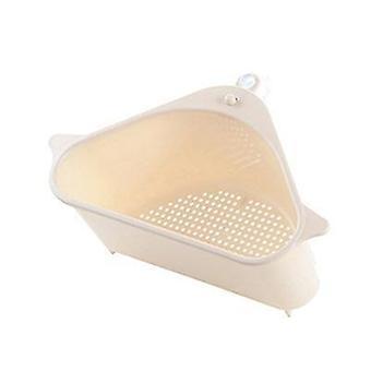 Triangular Sink- Strainer Drain Fruit Vegetable Drainer Basket