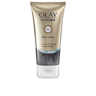 Olay Scrubs ontgiftende houtskool crush 150 ml voor vrouwen