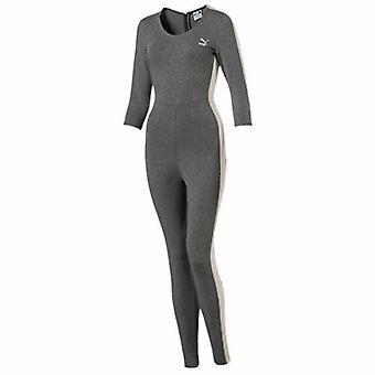 Puma Архив T7 женщин серый хлопок все в одном Jumpsuit 573534 03 A15D