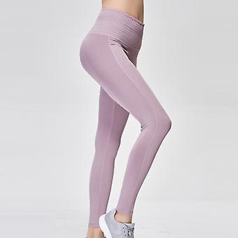 Women's pantalones de yoga transpirables de cintura alta Q32