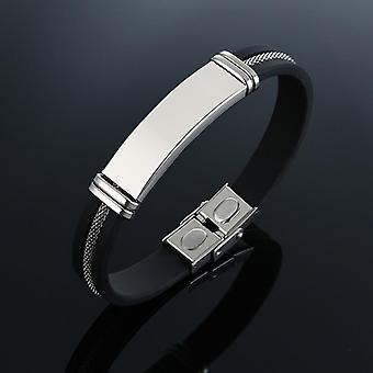 Stylish Casual Stainless Steel Wrist Band
