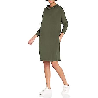 العلامة التجارية - طقوس اليومية Women's Supersoft تيري الحديثة قمع الرقبة اللباس