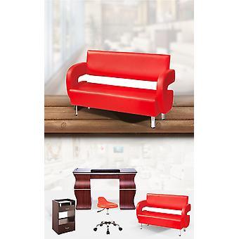 Salonkilaitteiden odottavat tuolit