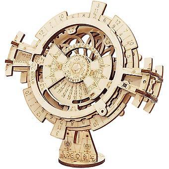 ROKR Perpetual Calendar -3D Wooden Puzzles/Mechanical Models/Propelled Model