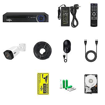 Hiseeu Poe Ip Camera Security System 5mp Outdoor Weerbestendige Audio Kit