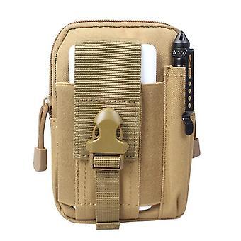 Men Waist Bag Canvas Fanny Pack Belt Phone Drop Leg Military Zipper Waterproof
