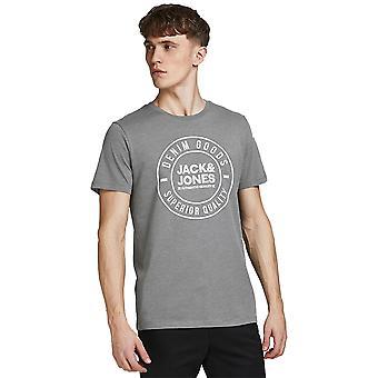 Jack & Jones Mens Jjejeans Crew Neck T Shirt met korte mouwen