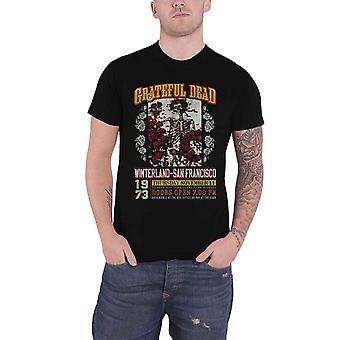 Grateful Dead T Shirt San Francisco 1973 Poster new Official Eco Mens Black