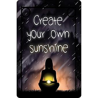 Grindstore Create Your Own Sunshine Plaque