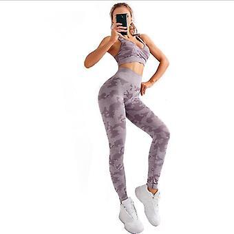 Femeiăs Yoga Fitness Sport Suit M21