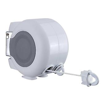 Washing Line Clothes Line Dual Retractable Washing Line 30m /98ft   Retractable Washing Line   For Indoors And Outdoors