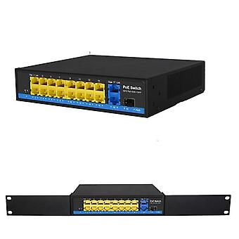 Poe Switch Ethernet med standardisert port