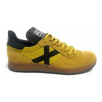 Shoes Munich Sneaker Orion 17 In Suede/ Nylon Color Yellow Man U20mu04