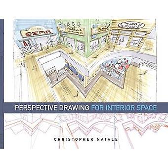Desenho de Perspectiva para o Espaço Interior por Christopher Natale - 978160