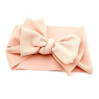 Baby Headband Top Knot Oversized Bow Hair Turban, Newborn Headband Hair Bows