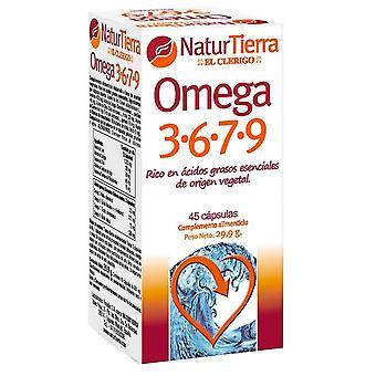 Naturtierra Omega 3-6-7-9 45 kapslar
