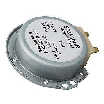 6.6cm diameter mikrobølgeovn platespiller motor erstatte 6549W1S013K PS3529217