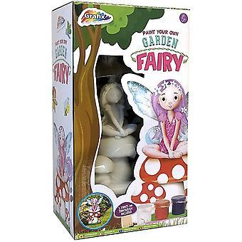 Paint Your Own Garden Fairy Craft Set