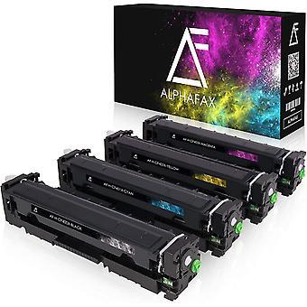 4 Wokex Toner kompatibel mit HP CF400X CF401X CF402X CF403X 201X fr Laserjet Pro MFP M277dw M277n
