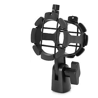 Draagbare handheld condensator microfoon schok mount clip microfoon houder standaard