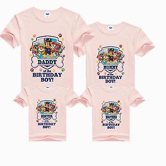 Hundtryck T-shirts, Familjekläder, Kortärmad T-shirt