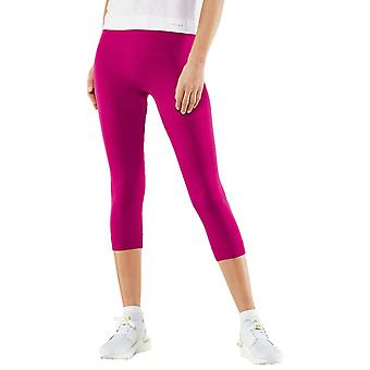 Falke Lightweight 3/4 Running Tights - Berry Pink
