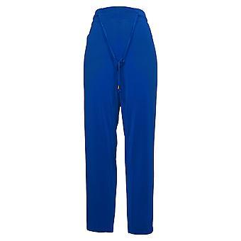 Nina Leonard Women's Pants X-Large Drawstring Waist Blue 652801