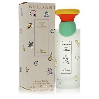 Petits & mamans eau de toilette spray by bvlgari 557015 40 ml