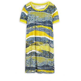 Sandwich Clothing Warm Olive Patterned Dress