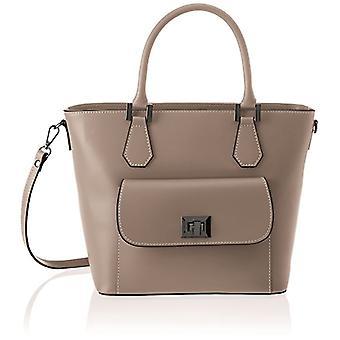 Bag Bag 8855, Women's Shoulder Bag, Beige (Taupe), 37x25x17 cm (W x H x L)