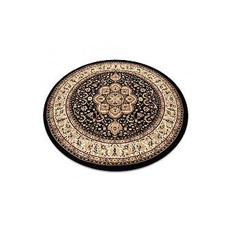 البساط الملكي ADR دائرة تصميم 521 أسود