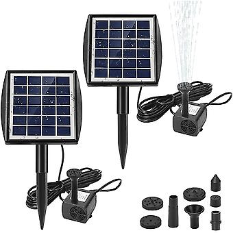 Solar water pump for fountains with panel 2.0w dt4420