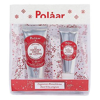 Unisex Cosmetic Set The Genuine Lapland Hand & Lip Polaar (2 pcs)