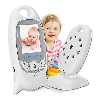 2,4 Ghz draadloze baby video monitor twee-weg talk 2,0 inch met LCD-scherm nachtzicht