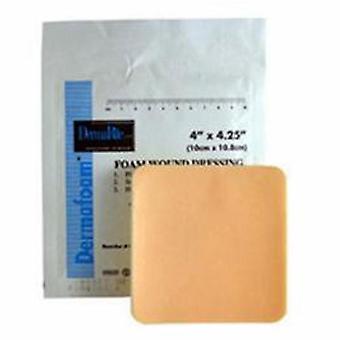 DermaRite Foam Dressing 6X6 Inch Sterile, 1 Each