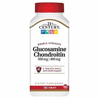 21st Century Glucosamine Chondriotin, 500 mg/400 mg, 180 Tabs