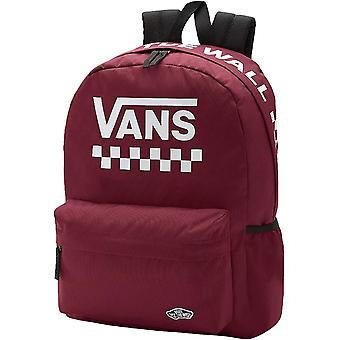 Vans יוניסקס רחוב ספורט מתכוונן רצועה בית הספר תרמיל תרמיל תרמיל - Multi