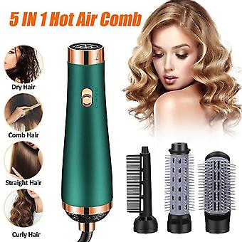 New Negative Ion  Multifunction Professional Hair Dryer Salon Hot Air Paddle Styling Brush