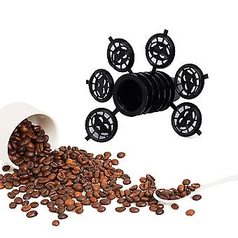 Black Refillable Coffee Capsula Refilling Filter Pod