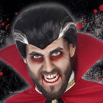 Halloween peruukki vampyyri brunette 116226