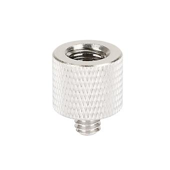 """Lanxri Screw Adapter 1/4"""" Male To 3/8"""" Female For Tripod And Camera And Qr Plate"""