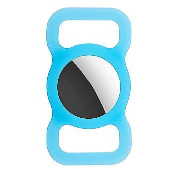 Porte-collier apple AirTag chat / chien - Brille dans le sombre / bleu