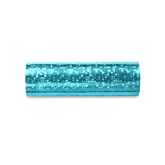 3.8m Sky Blue Holographic Streamer Roll for Parties