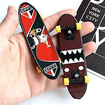 Mini dedo de skate de plástico, skate, fingerboard, jogo clássico