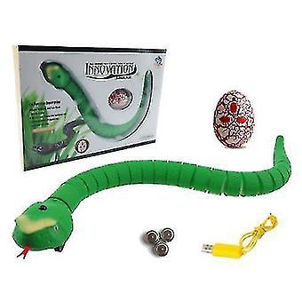 Hoch Simulation Tricky Spielzeug Fernbedienung Klapperschlange Tier Infrarot Simulation Cobra Creepy