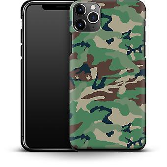 Grün und Braun Camo von abtrierbaren Designs Smartphone Premium Case Apple iPhone 11 Pro Max