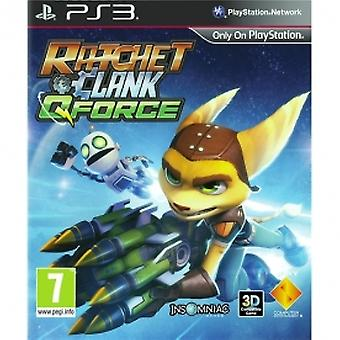 Ratchet & e Clank Q-Force Game PS3