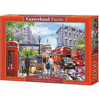 Castorland, Puzzle - Spring in London - 2000 Pieces