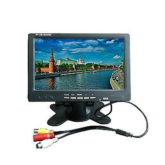 7-inch Tft Led Monitor- A/v Display Car Tv